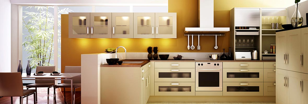 Custom design Modular Kitchen