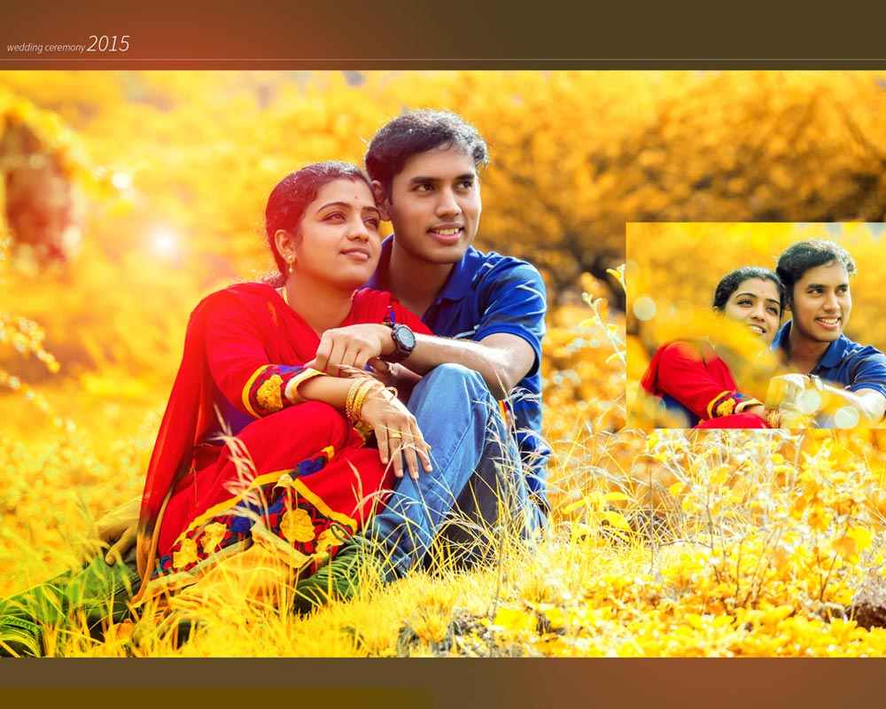 outdoor wedding photography cumbum