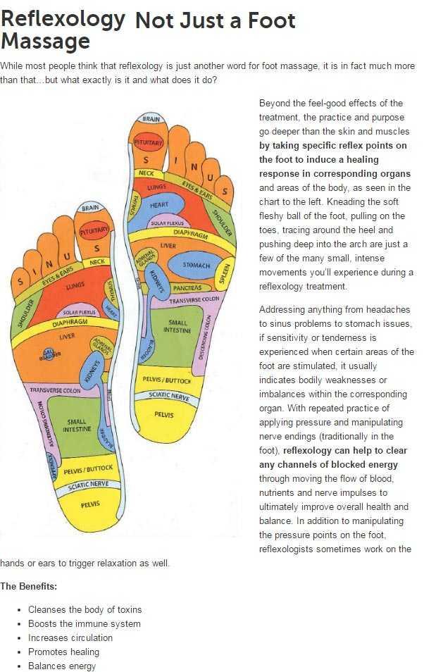 Bala Holstic reflexology massage