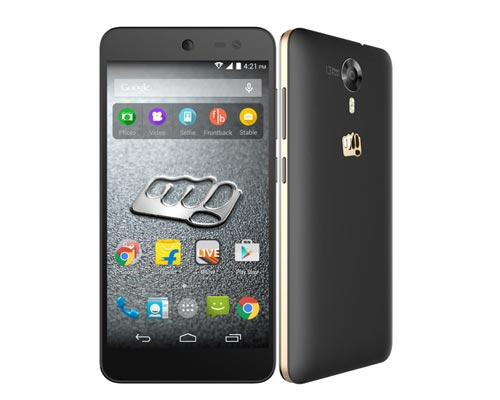 Thevaram Micromax Canvas Mobile sales
