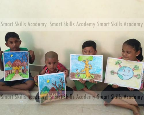 Kids arts & craft training bodinayakanur