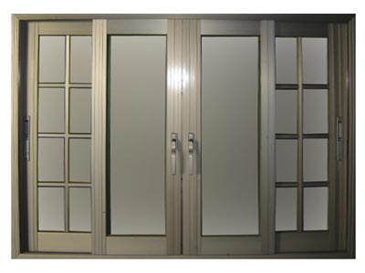Aluminium Door Fabrication Works