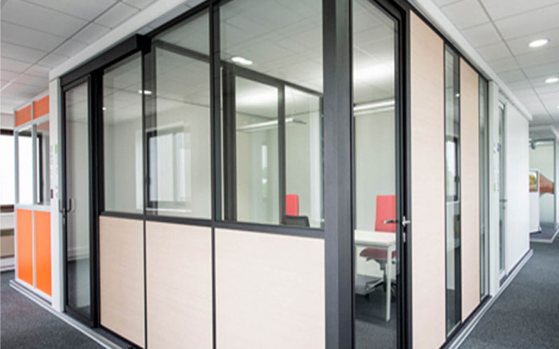 Aluminium partition in cumbum