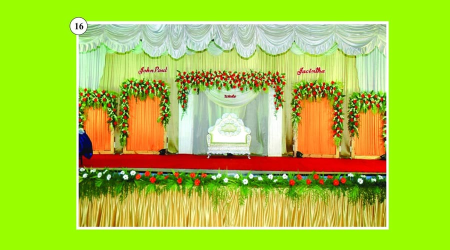 Expert stage decor cumbum