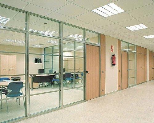 Aluminum Glass Partition work Thevaram Cumbum