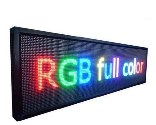 Led Moving Sign Board manufacturer andipatti