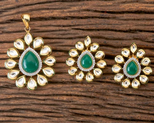 Kundan Pendant set Buy Online Theni