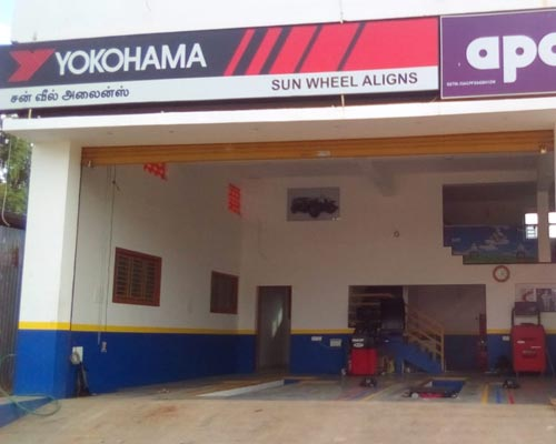 Car alignment service cumbum