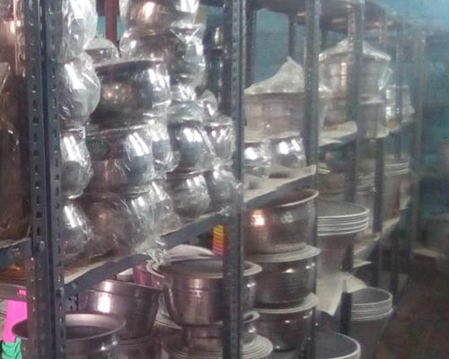 Marriage Gift Metal store chinnamanur