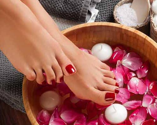 Wedding Pedicure service cumbum