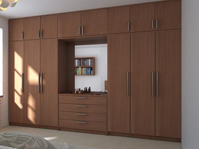 Wardrobe for home