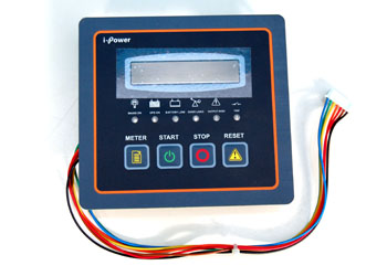 16x2 Line LCD meter with UPS ON