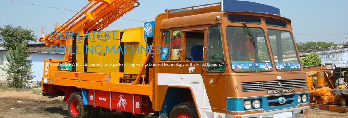 Experienced Borewell Contractor Theni