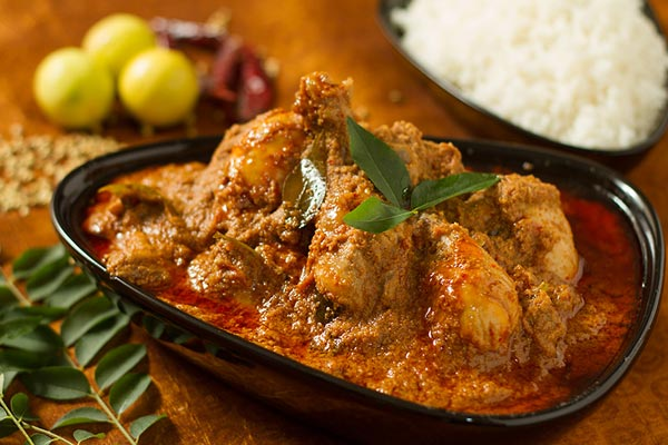 Chicken Chettinad special order