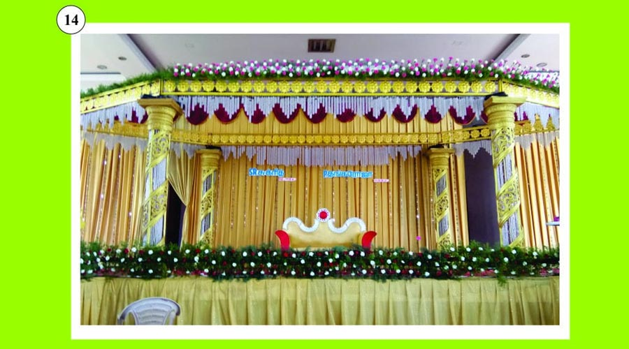 Affordable Stage decoration bodi
