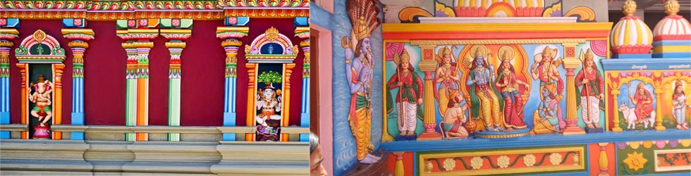 Temple Painting contracor theni