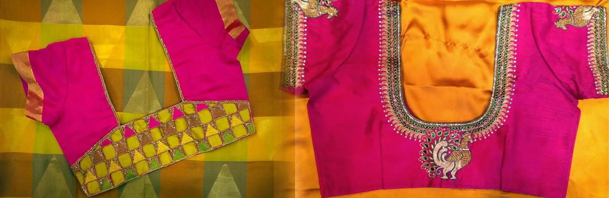 Indian Bridal Blouse stitching expert theni