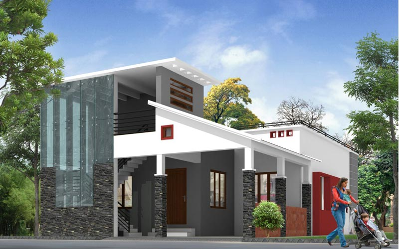 Residence Architecture In Theni