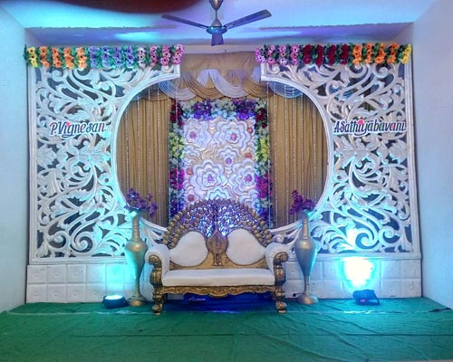 Madurai Wedding Outdoor Entrance Decoration Ukkadam Coimbatore