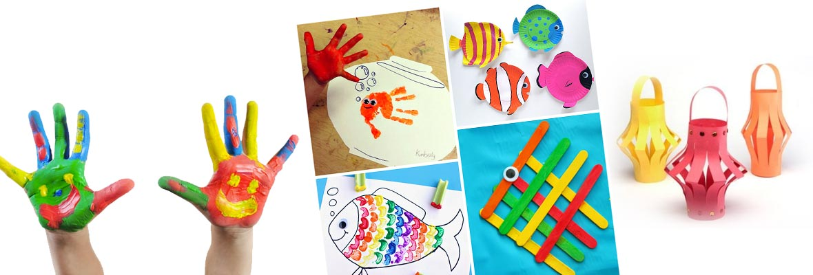 Art & craft training for kids theni