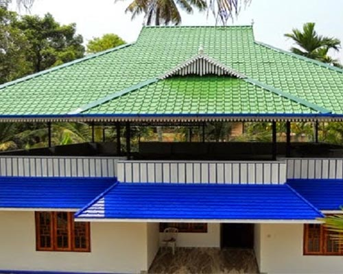 Residential Roofing work kerala Gudalur