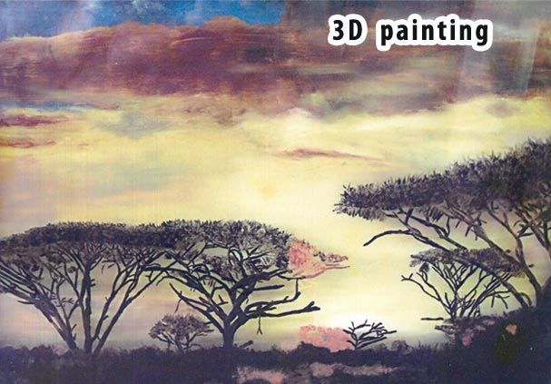 3d craft painting centre