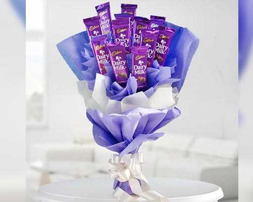Send Chocolate Bouquet Online Trichy