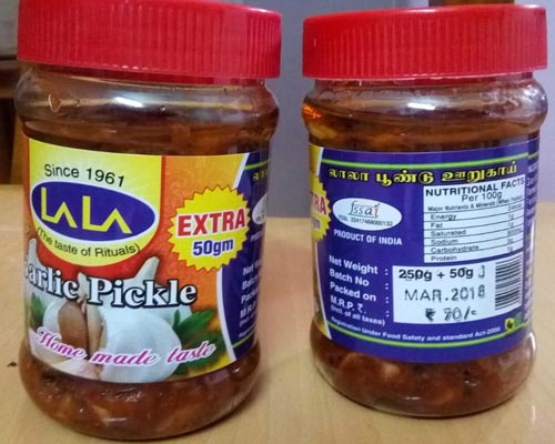 tasty quality pickles Manufacturer Coimbatore