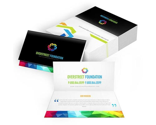 Folded Business Cards Printing palani