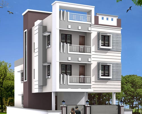 Usilampatti Modern Villa House Construction Theni