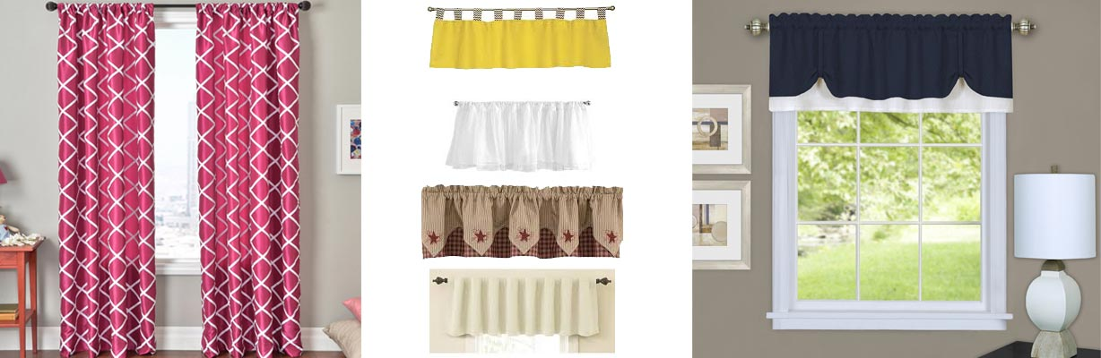 Valance curtains madurai