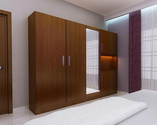 Bed room wardrobe designer chinnamanur