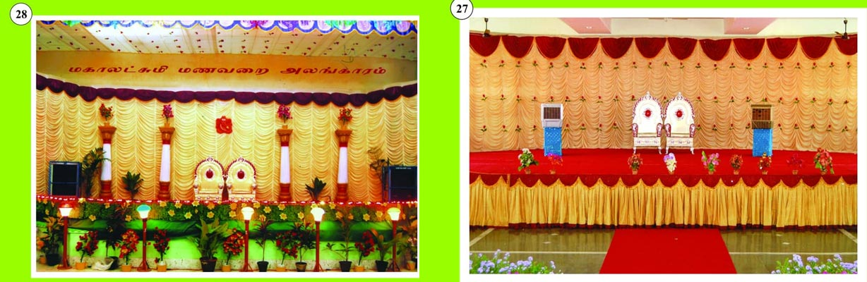 special occasion stage decoration bodinayakanur