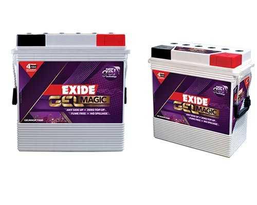 Exide Gel Battery Distributor Usilampatti