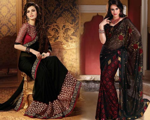 Affordable Party Wear Sarees Bodinayakanur