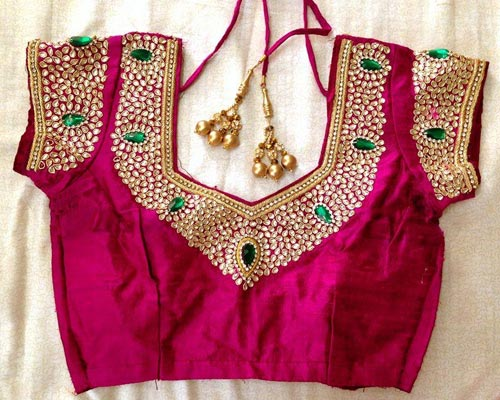 Gorgeous Designer Blouses Work