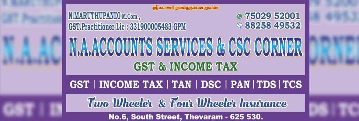 No 1 Tax consultant in theni