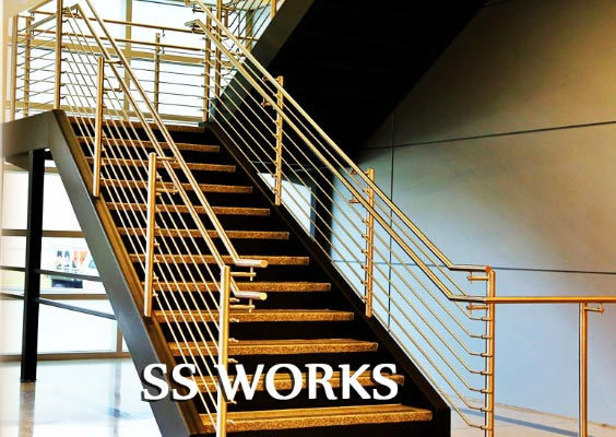 ss staircase work profession theni